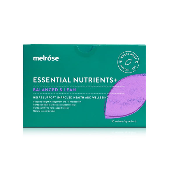 MELROSE Essential Nutrients+ Balanced and Lean 30*3g sachets