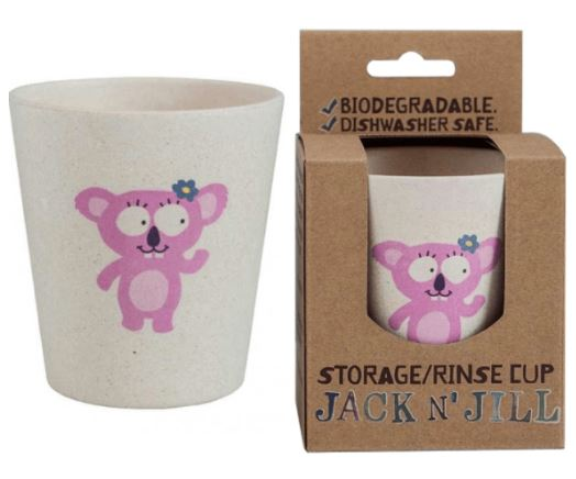 JACK N'JILL Storage and Rinse cup