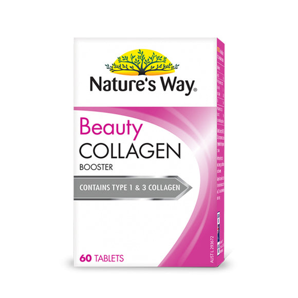NATURE'S WAY Beauty Collagen Tablets 60 Film Coated Tablets