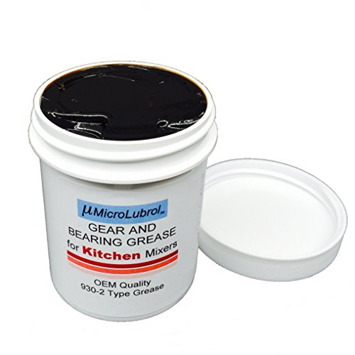 4.5 oz MICROLUBROL Kitchen Stand Mixer Gear & Bearing Grease 4176597 Benalene 930-2, Made in USA, Enough For One Repair