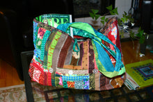 Load image into Gallery viewer, 'Kwilt Fou' Quilted Beach & Yoga Tote