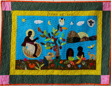 Load image into Gallery viewer, Adam and Eve - Adan ak Eve - folk art quilt
