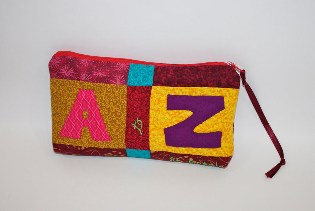A to Z Pencil Pouch