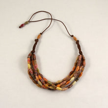 Load image into Gallery viewer, Handmade Bead Statement Necklace