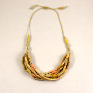 Handmade Bead Statement Necklace