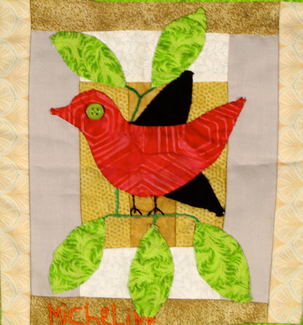 #42 Birds of Hope Mini-Quilt