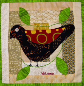 #30 Birds of Hope Framed Mini-Quilts
