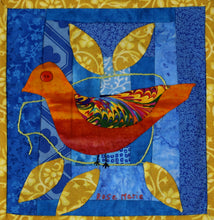 Load image into Gallery viewer, #28 Birds of Hope Framed Mini-Quilt