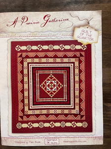 A Prairie Gathering Quilt of the Quarter Kit