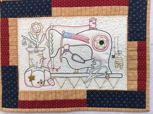 Sewing in Summer Stitchery Kit