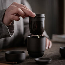 Load image into Gallery viewer, Portable travel tea set