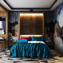 Load image into Gallery viewer, 100% Mulberry Silk Luxury Bedding Set