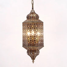 Load image into Gallery viewer, Moroccan iron chandelier