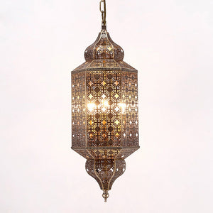 Moroccan iron chandelier