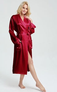 100% mulberry silk nightgown