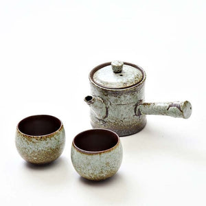 Japanese ceramic teapot kettle