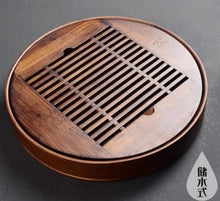Load image into Gallery viewer, Wooden tea tray