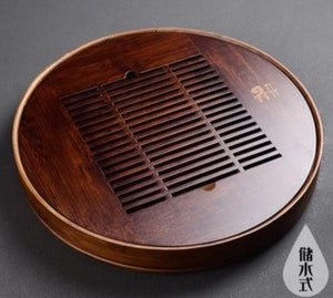 Wooden tea tray