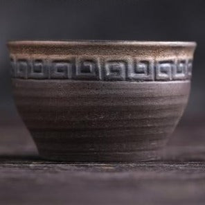 Ceramic thread teacup