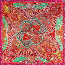 "Load image into Gallery viewer, Silk Scarf 51x51"" (130x130 cm)"