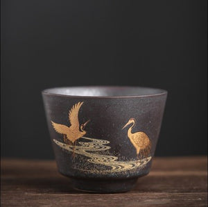 Japanese style teacup set