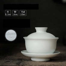 Load image into Gallery viewer, Japanese style glazed ceramic tea bowl