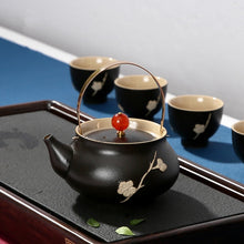 Load image into Gallery viewer, Japanese style ceramic tea pot