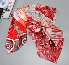 "Load image into Gallery viewer, Silk Scarf 35x35"" (88x88 cm)"