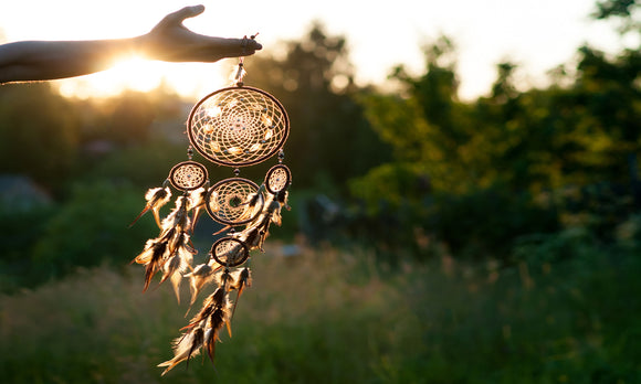 Click here for dreamcatcher products.