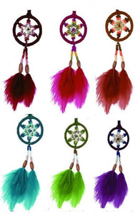 "2.5""D DREAMCATCHER(SET OF 6 COLORS ASST'D) DC02187K"