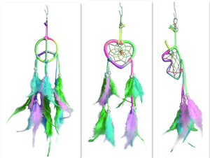"2.5"" DREAMCATCHER KEY CHAIN(SET OF 36, 3 ASST'D STYLES W/ DISPLAY) DC02299K"
