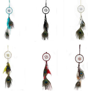 "3""D DREAM CATCHER(SET OF 6 COLORS ASST'D)W/BELLS DC03122K"