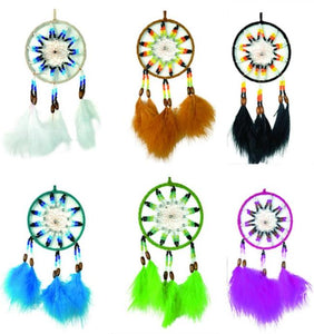 "4.5""D DREAMCATCHER(SET OF 6 ASST'D COLOR) DC04186K"