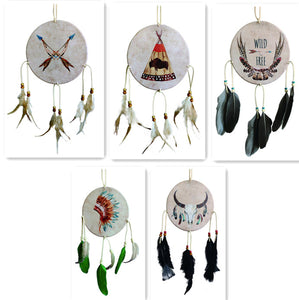 "6.5""D DREAMCATCHER(SET OF 5 ASST'D) DC06254K"