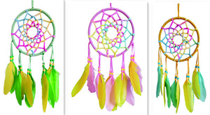 "6.5""D DREAMCATCHER(SET OF 3 COLORS ASST'D) DC06269K"