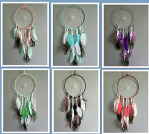 "8"" DREAMCATCHER(SET OF 6 COLORS ASST'D) DC08198K"