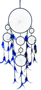 "9""+5""+3.5""(3)+2""(3)D DREAMCATCHER(SET OF 6 COLORS ASST'D) DC09288K"