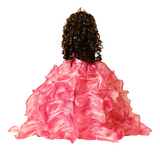 "20"" Quinceanera Doll With Umbrella KB20727H-12 Coral"