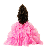 "20"" Quinceanera Doll With Umbrella KB20727H-22 Hot Pink"
