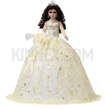 "28"" Birthday Umbrella Dolls KB28200-2 Ivory"