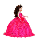 "18"" Quince Umbrella Dolls KB18725-9 Fuchsia"
