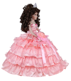 "18"" Quince Umbrella Dolls KK18729-12 Coral"