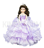 "18"" Quince Umbrella Dolls KW18728-5 Lavender"