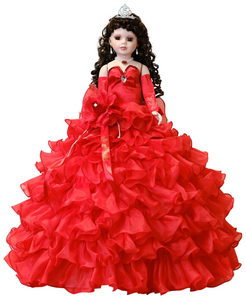"28"" Quinceanera Dolls KW28300-14 Red"