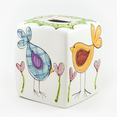 Square Tissue Box with Rounded Corners
