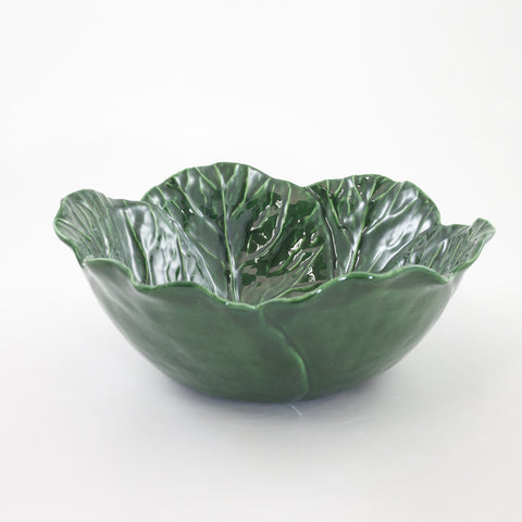 Large Cabbage Leaf Bowl