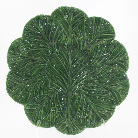 Large Round Cabbage Leaf Platter