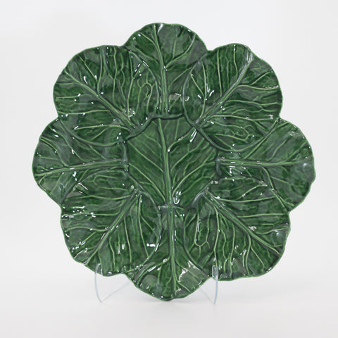 Medium Round Cabbage Leaf Platter