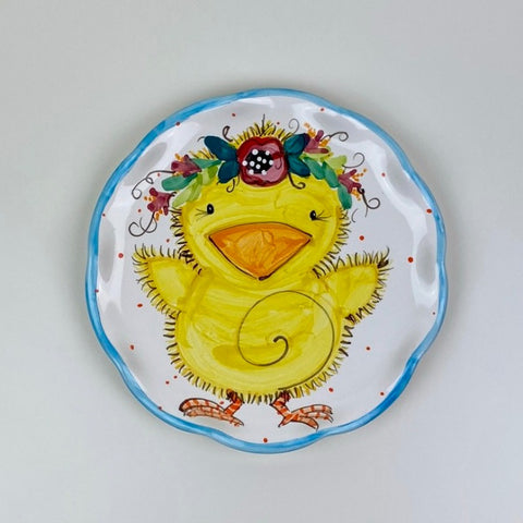 "Fuzzy Chicks 8"" Plates"