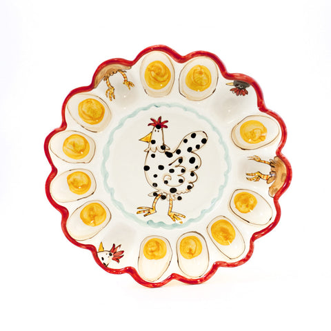 Chickens Egg Dish